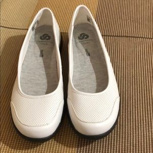 Clarks CloudStepperd White New